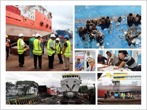 GloFouling project sets to work in the Pacific
