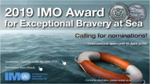 IMO 2019 Bravery awards