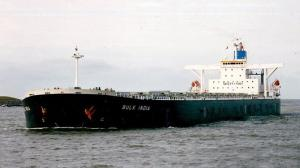 Grounding of bulk carrier Bulk India, Dampier